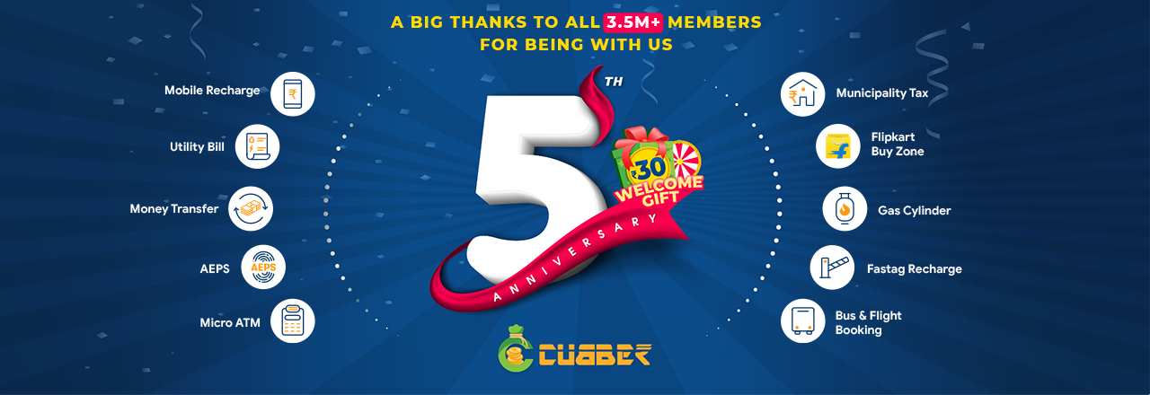 Cubber 5th Anniversary