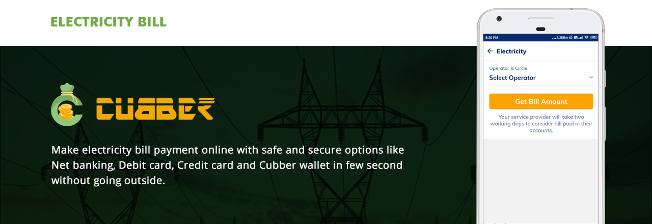 Cubber Electricity Bill